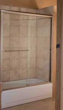Regal Bypass Bathtub Door
